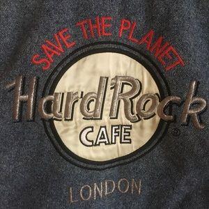 Vintage Hard Rock denim jacket